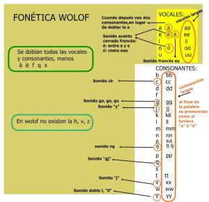 fonetica wolof