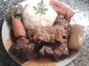 foto ternera o cordero al curry