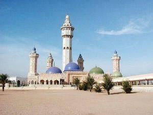 La gran mezquita de Touba
